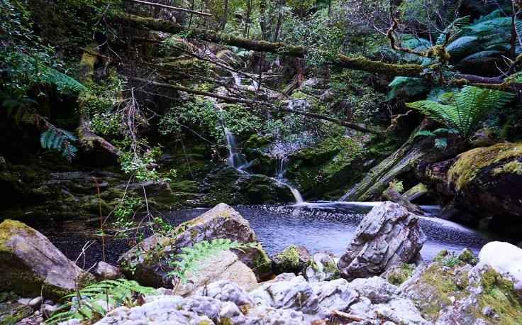 Hebe River Falls 1
