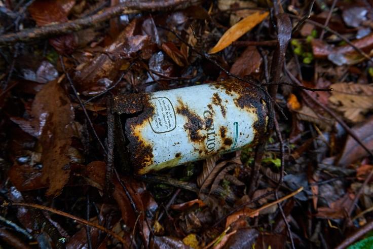 Mt Farrell Mine dump carlton draught 1