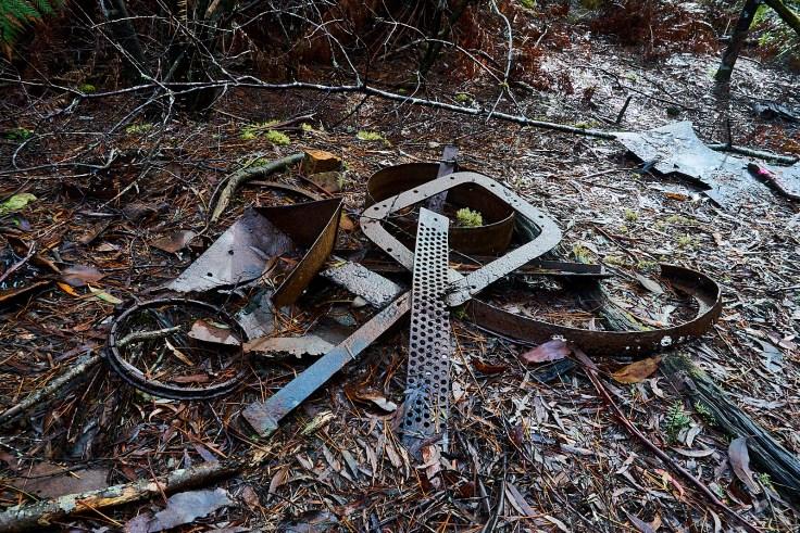 Old metal ruins 1