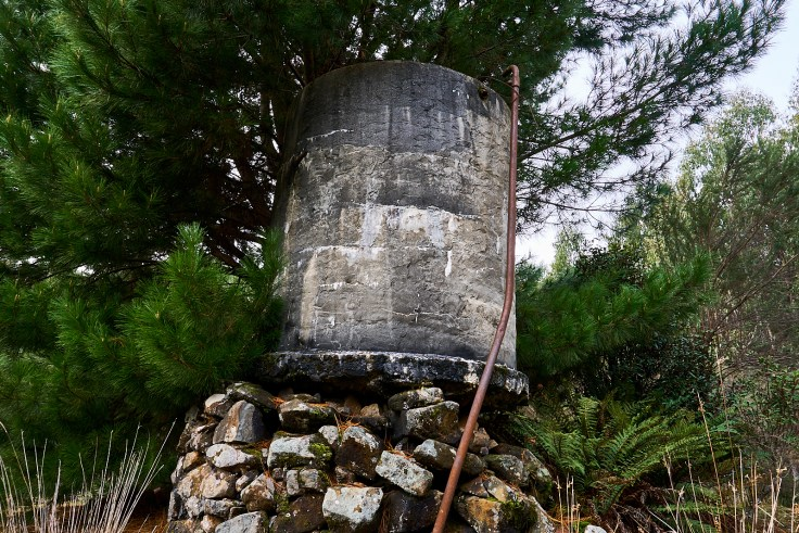 west takone post office water tank
