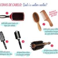 Qual o melhor tipo de escova para seu cabelo?