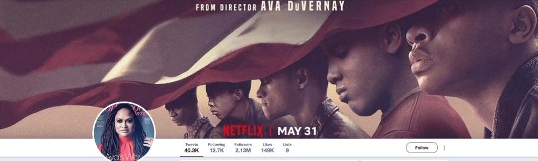 Twitter: When They See Us on Netflix