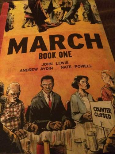 march book one poster. tasslyn blog