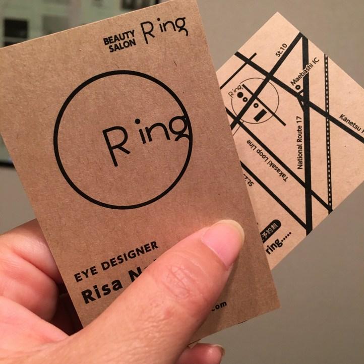 Ring様名刺