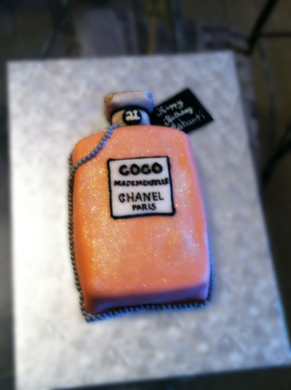 CoCo Chanel Custom Cake at Taste and C bakery