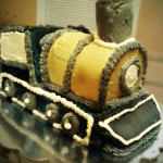 Train Custom Cake from taste and C