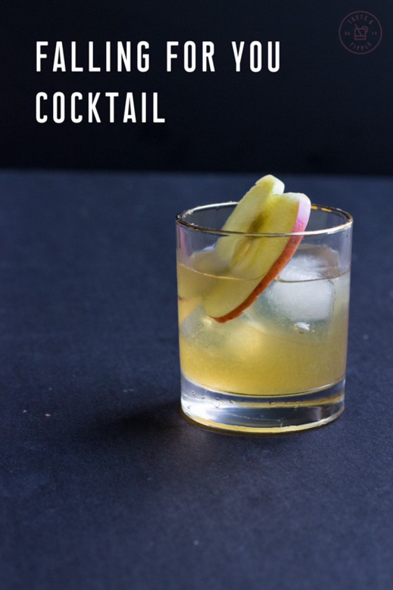 Falling For You Cocktail | Taste & Tipple