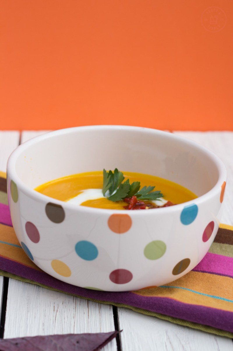 Moroccan Carrot Soup with Harissa Relish | Taste & Tipple