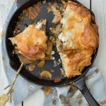 Butternut Squash, Kale and Goat Cheese Phyllo Pie | Taste and Tipple