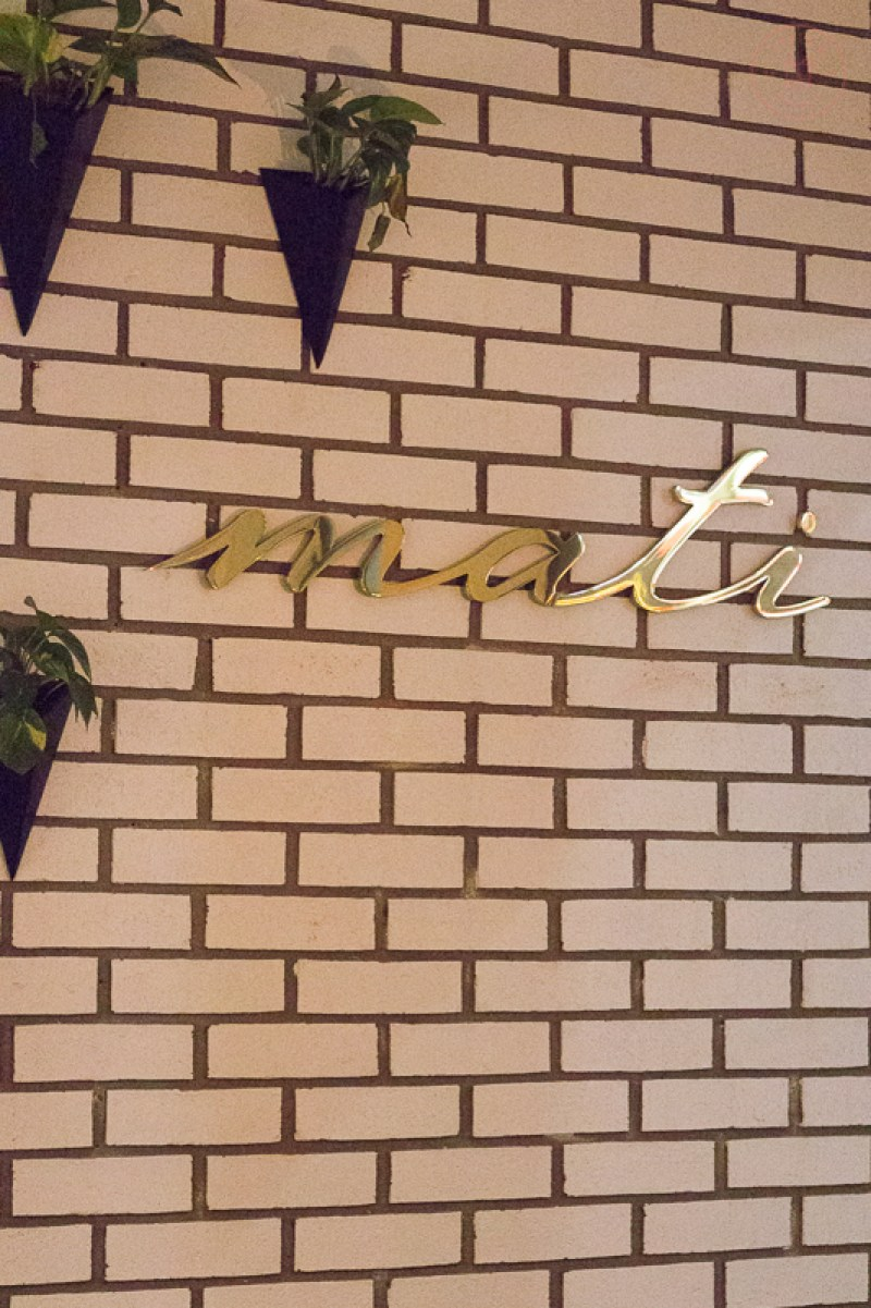 Restaurant Review: Mati | Taste and Tipple