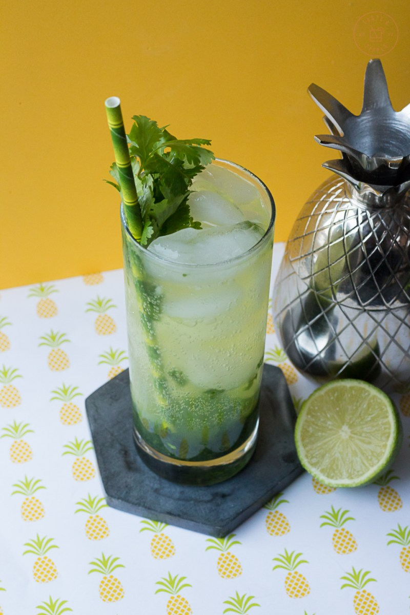 Cilantro Mojito | Taste and Tipple