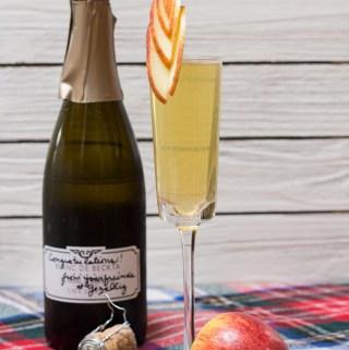 Apple Sparkler   Taste and Tipple