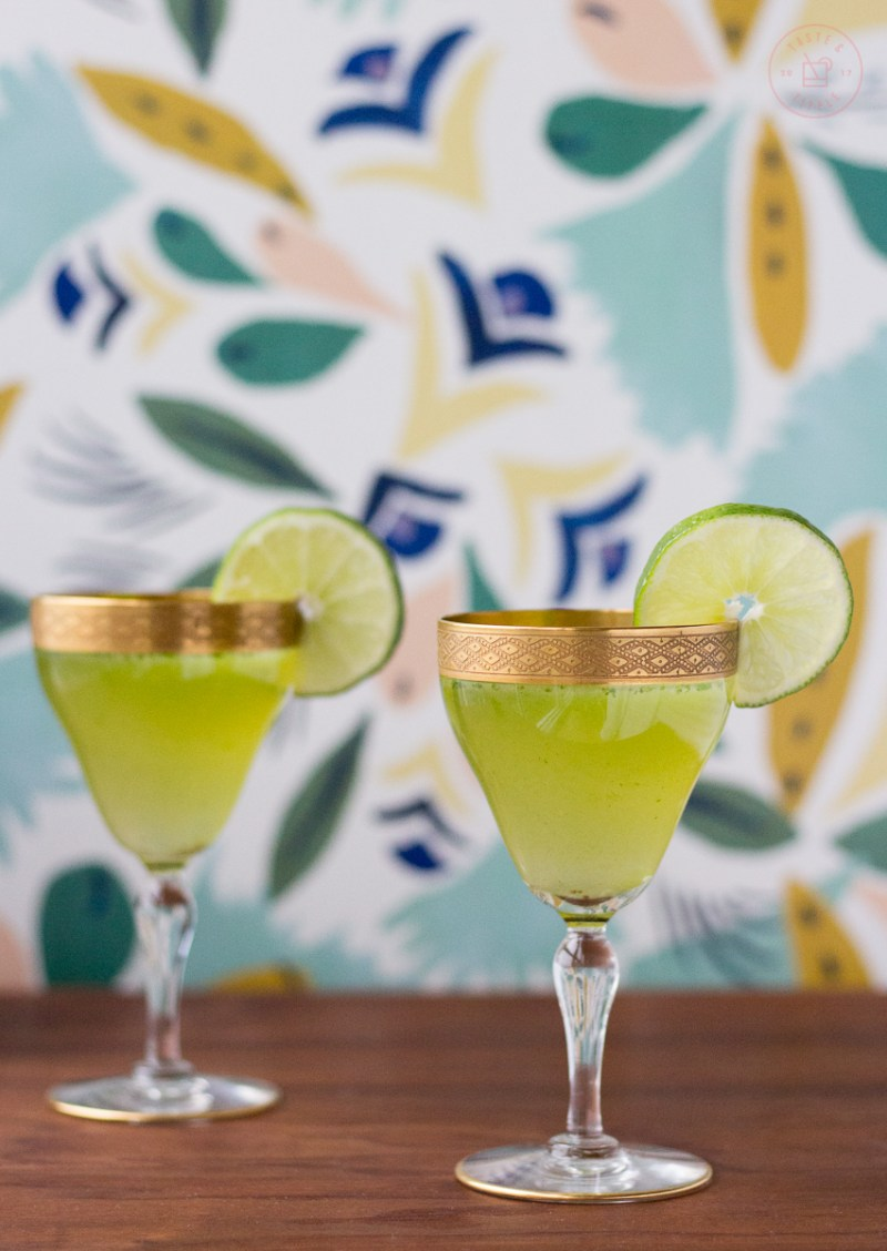 Celery and Cilantro Gin Gimlet | Taste and Tipple