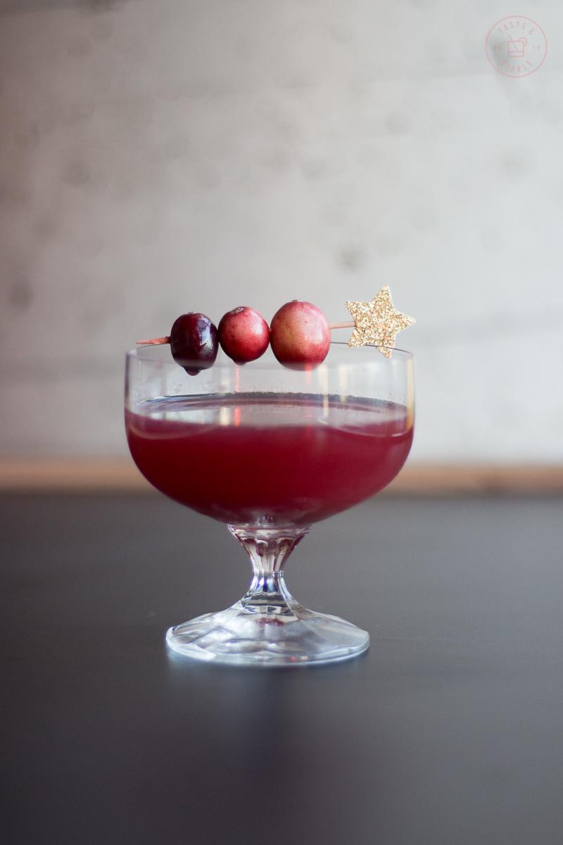 Cranberry Constellation | Taste and Tipple