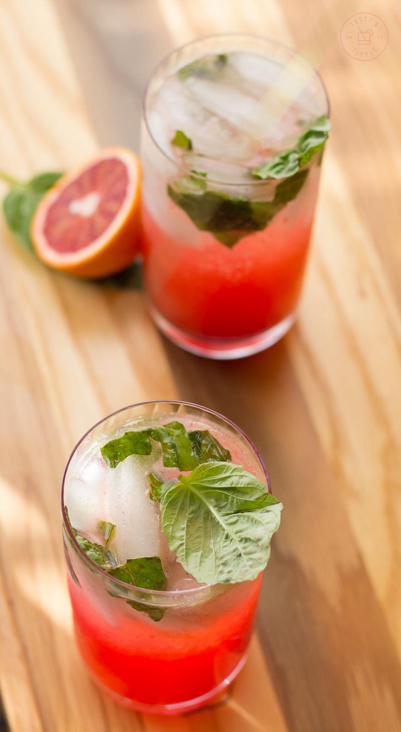 Blood Orange Mojito | Taste and Tipple