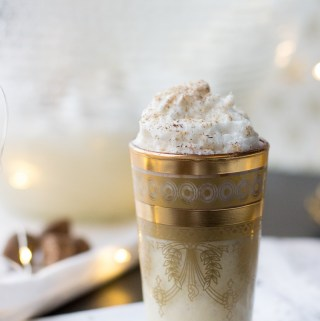 Hazelnut Eggnog | Taste and Tipple