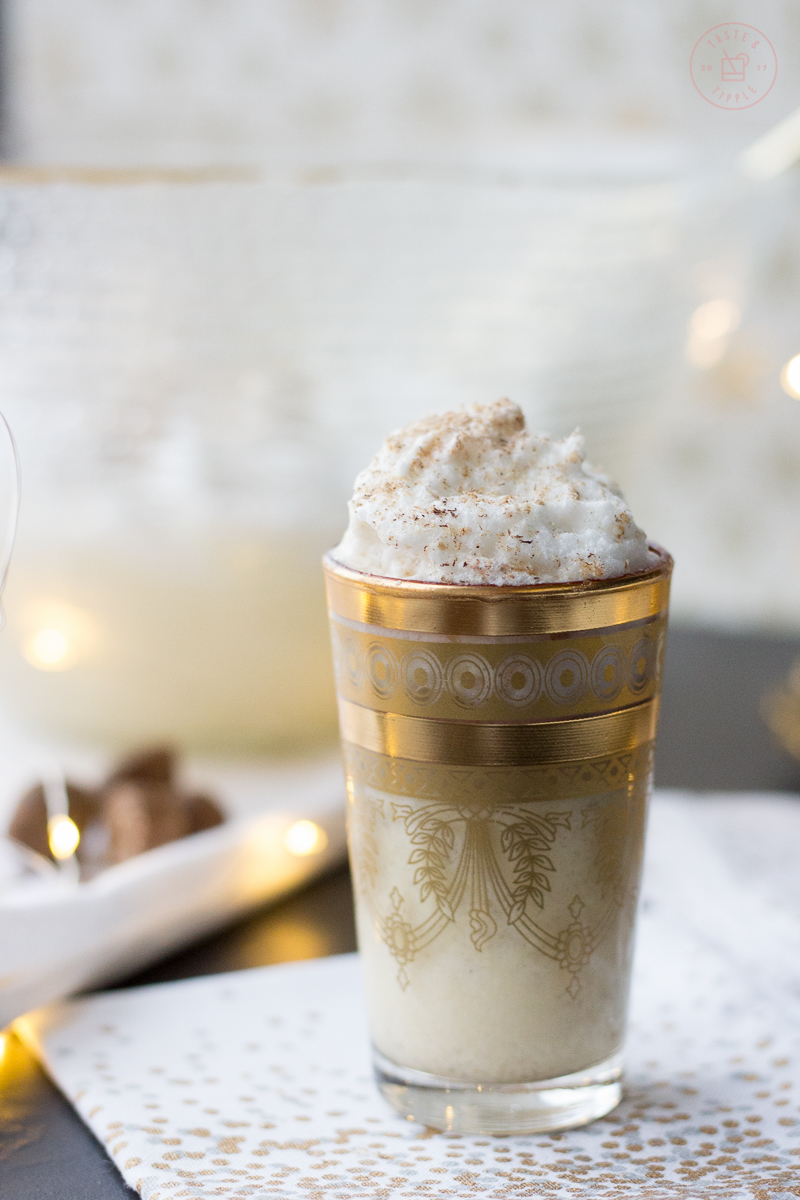Hazelnut Eggnog | Taste and Tipple