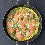Herbed Salmon and Potato Frittata   Taste and Tipple