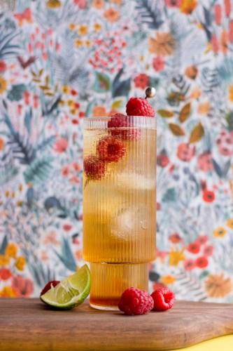 Raspberry Whisky Bramble | Taste and Tipple