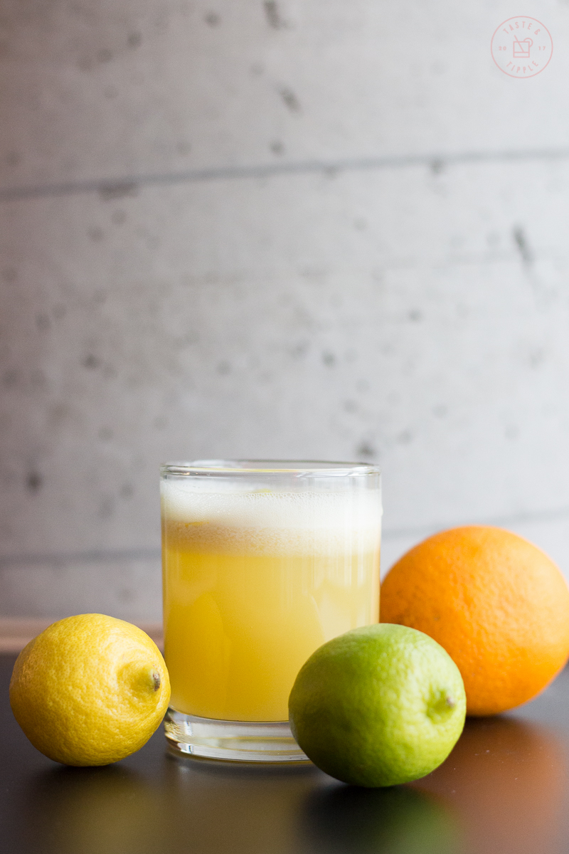 Three Citrus Sour | Taste and Tipple