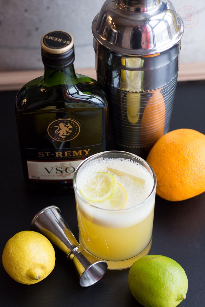 Three Citrus Sour | Taste and Tipple