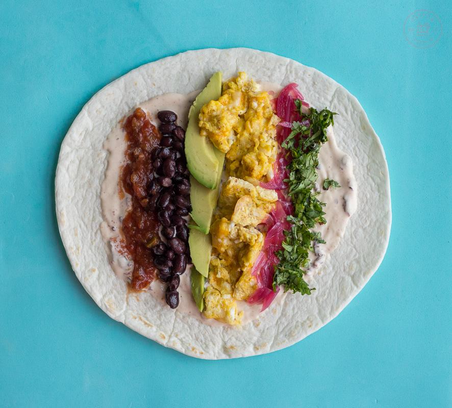 Breakfast Burrito | Taste and Tipple