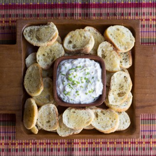 Caramelized Shallot Dip | Taste and Tipple