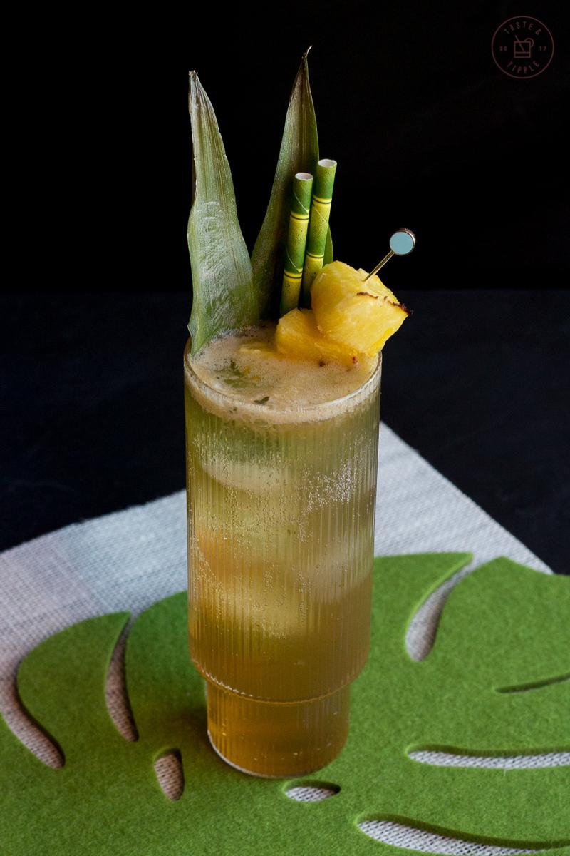 Piña Ginger Fizz | Taste and Tipple