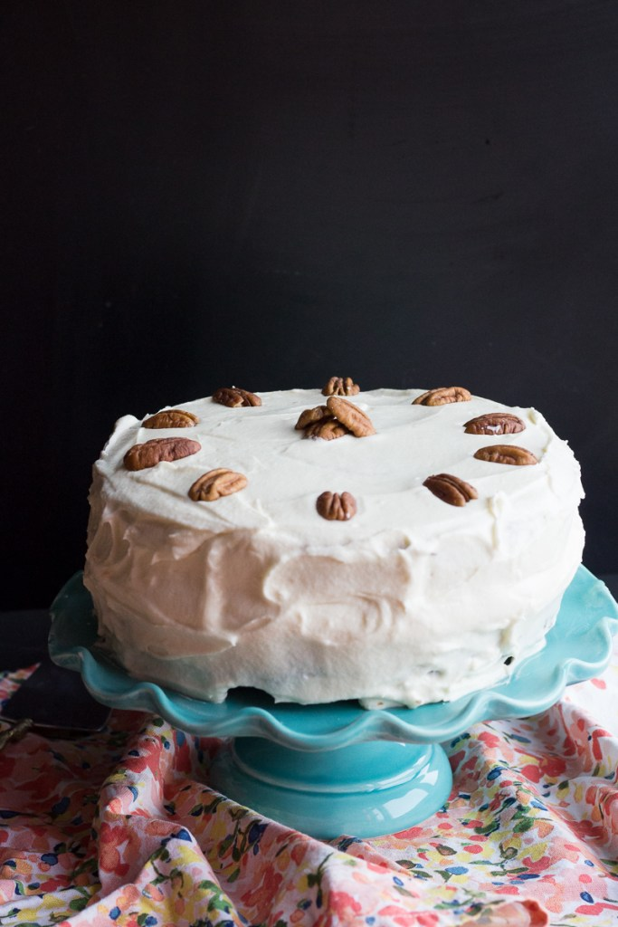 Pecan Bourbon Carrot Cake | Taste and Tipple