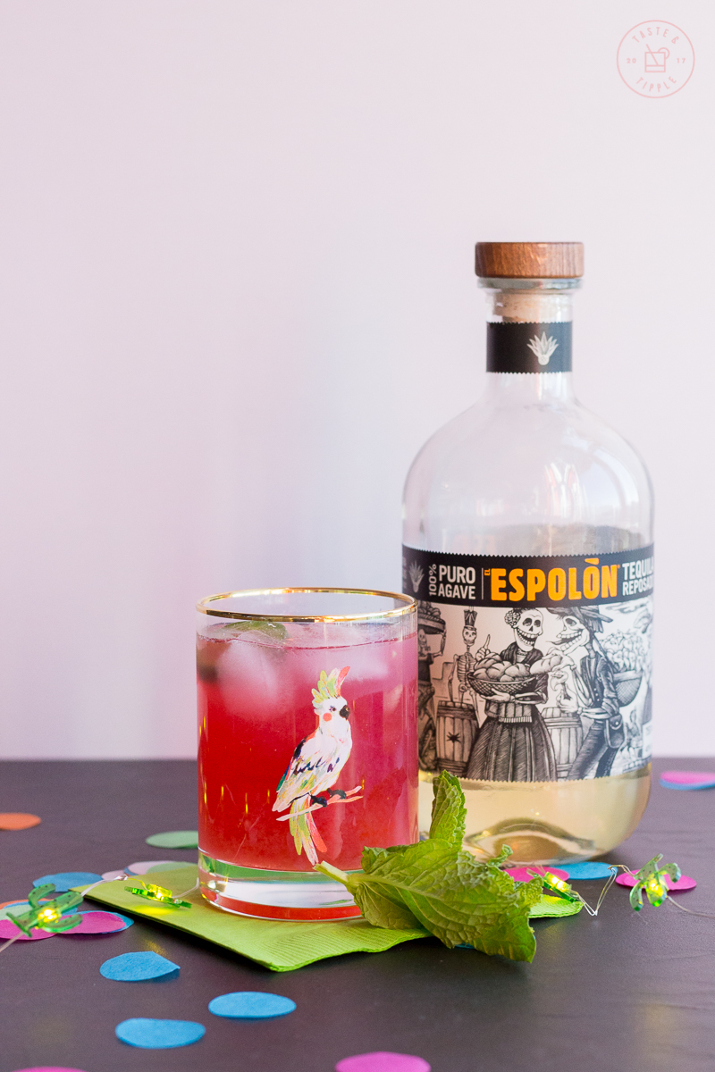 Picante Pineapple-Hibiscus Punch   Taste and Tipple