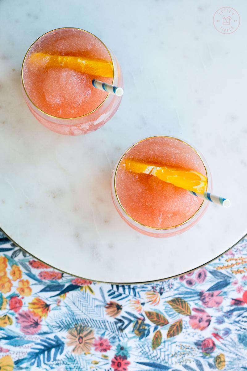 Frozen Negroni | Taste and Tipple