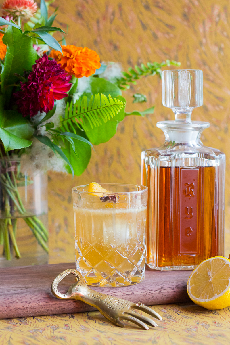 Ginger the Honeypot Cocktail | Taste and Tipple