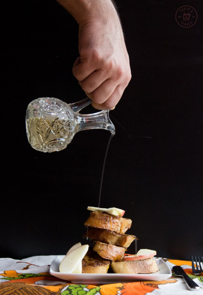 Apple Cinnamon French Toast with Aged Cheddar   Taste and Tipple