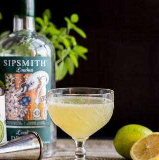 Thai Basil Gin Gimlet | Taste and Tipple