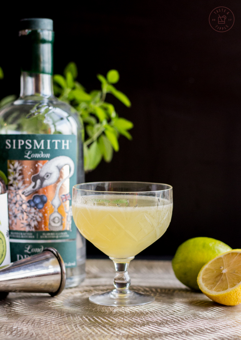 Thai Basil Gin Gimlet   Taste and Tipple
