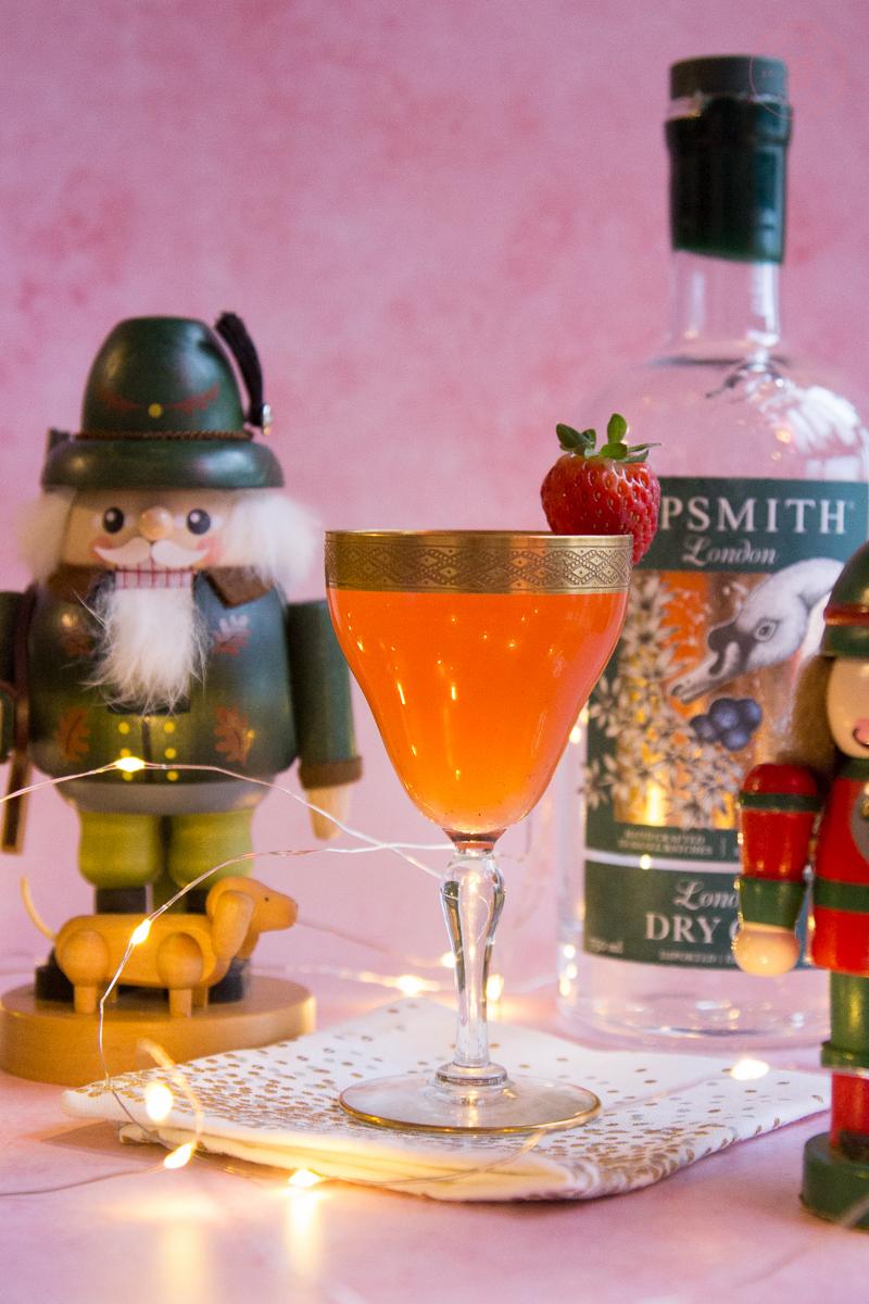 Santa's Strawberry Helper | Taste and Tipple
