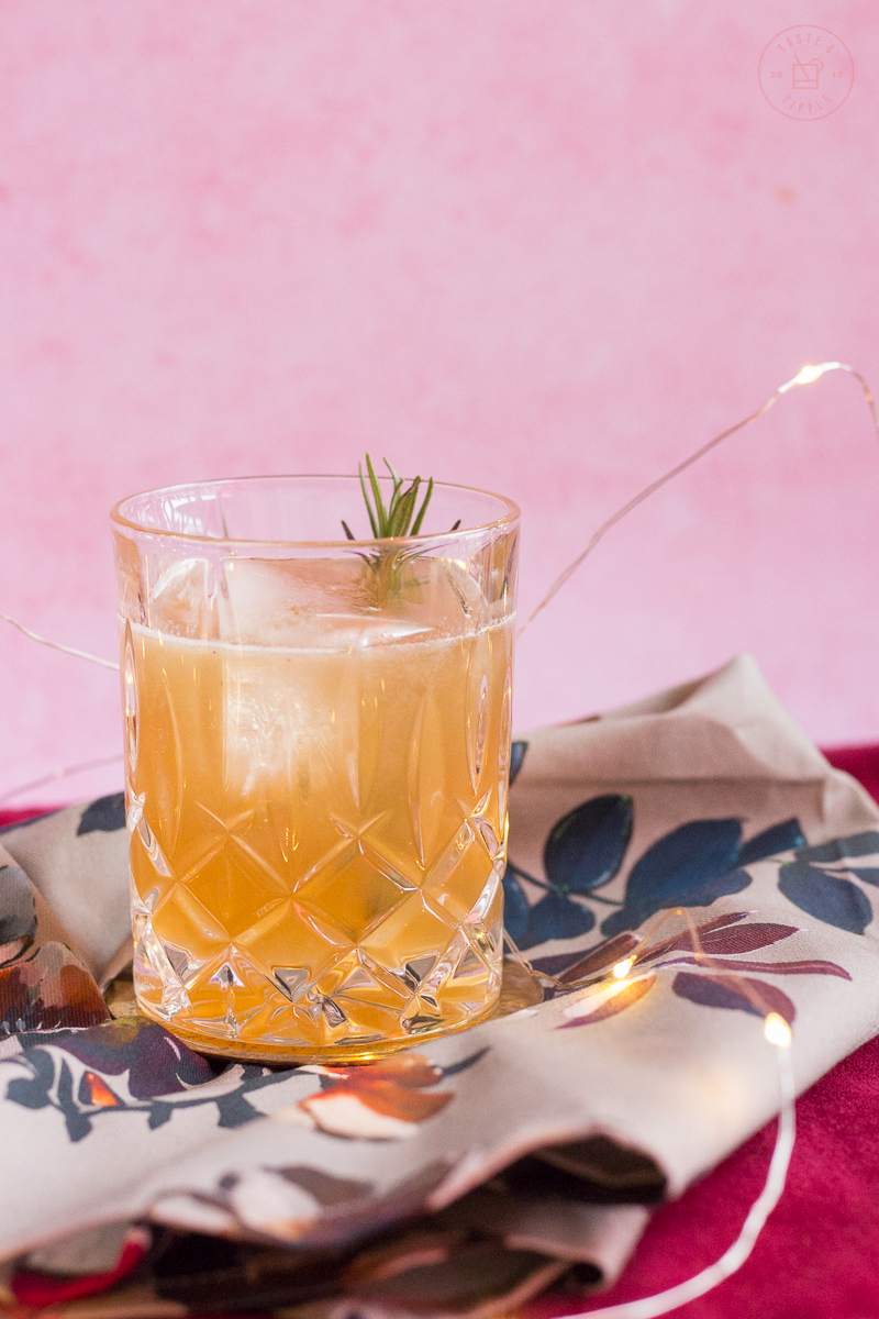 Rye & Rosemary Mirth | Taste and Tipple