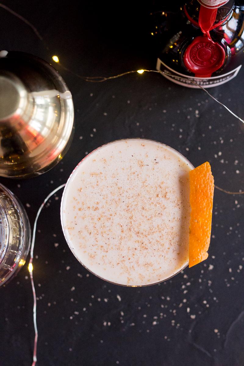 Tangerine Eggnog | Taste and Tipple
