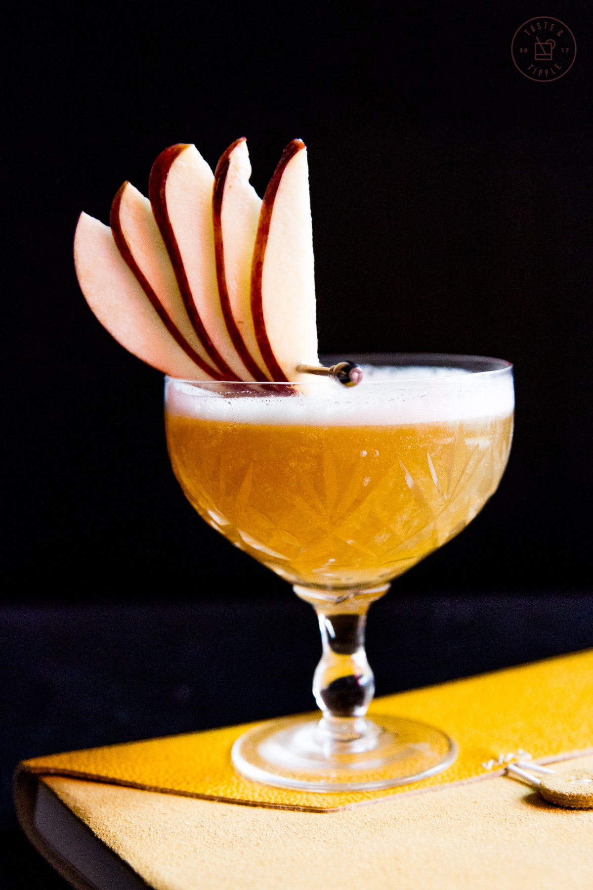 Isaac Newton's Sidecar | Taste and Tipple