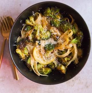 Lemony Broccoli Pasta   Taste & Tipple