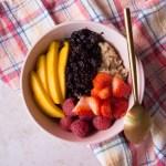 PB&J Oats | Taste & Tipple
