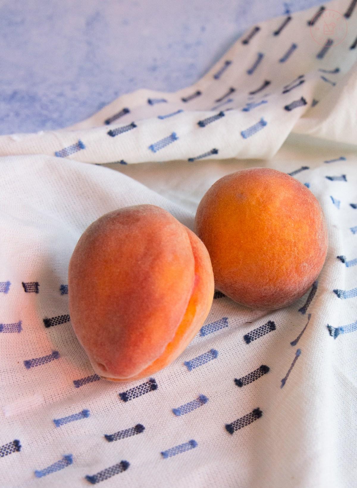 Peach Bourbon Cobbler | Taste and Tipple