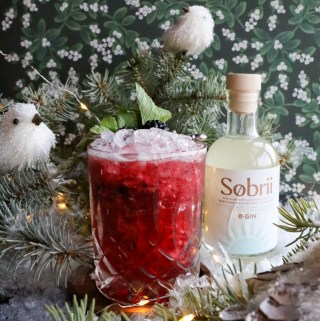Blackberry Christimas - Sobrii 0-Gin | Taste and Tipple