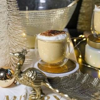 Bruleed Pumpkin Eggnog | Taste and Tipple