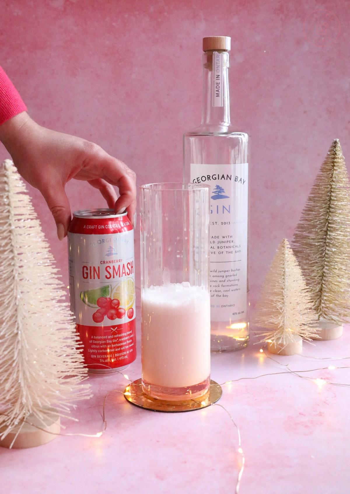 Comet's Gin Fizz - Georgian Bay Cranberry Gin Smash   Taste and Tipple
