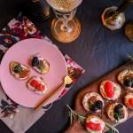 Crostini 3 Ways | Taste and Tipple