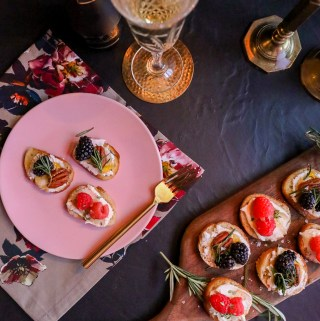 Crostini 3 Ways | Taste and Tipple