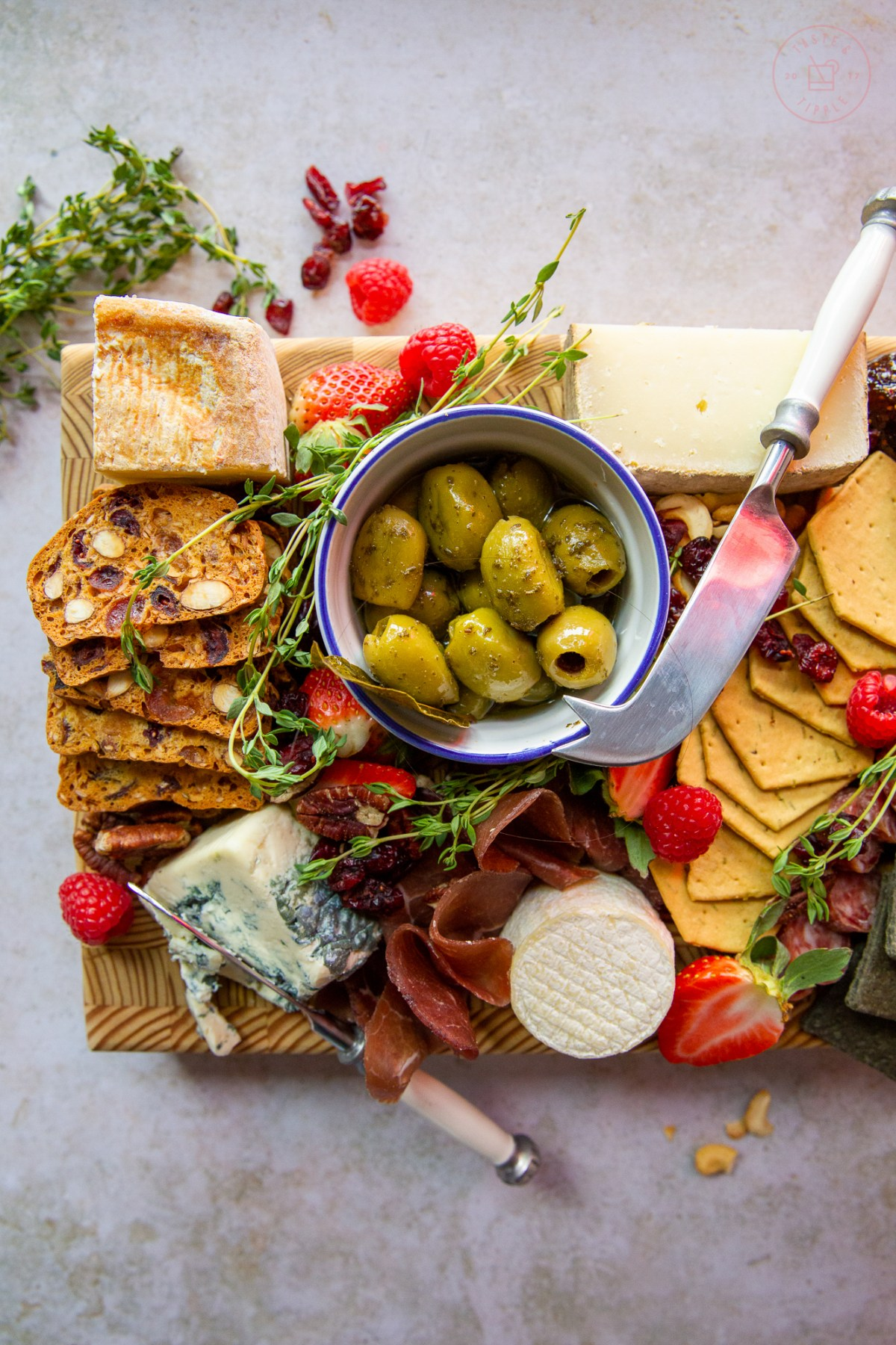 How to Build a Charcuterie Board | Taste and Tipple