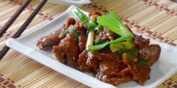 Mongolian beef recipe- How to cook  in 5 simple steps