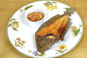 dried flounder